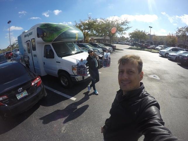 Estacionamento Lake Vista Orlando motorhome