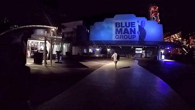 Entrada Blue Man Group