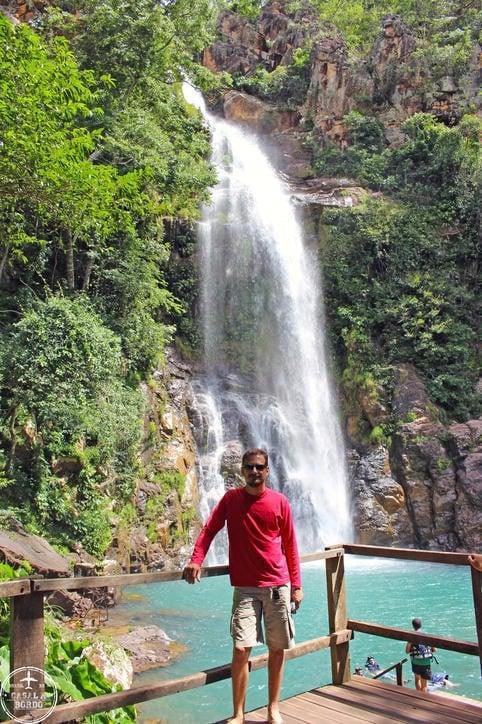 Cachoeira Sesc Serra Azul