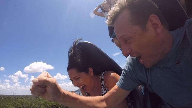 Mako, a montanha russa mais rápida de Orlando