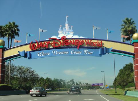 Portal de entrada ao Mundo da fantasia, Disney