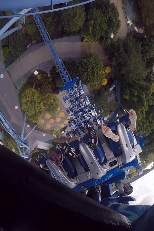 Manta montanha russa voadora